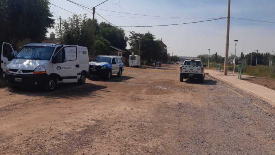 El doble crimen en Añelo fue en la madrugada del 8 de marzo. Foto: Gentileza Radio Municipal Añelo