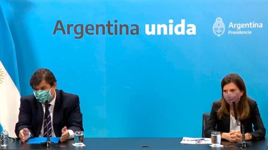 El anuncio fue realizado por Claudio Moroni y Fernanda Raverta.