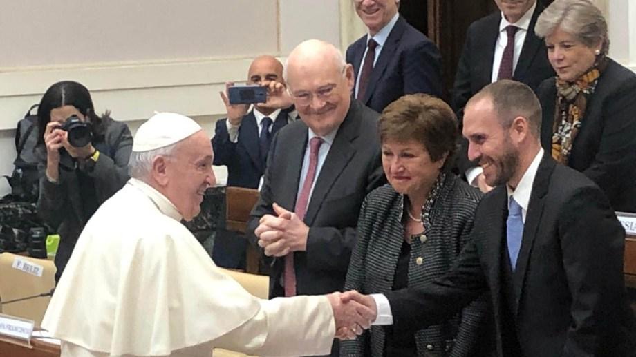 El ministro de Economía, Martín Guzmán, se reunirá mañana con el papa Francisco en el Vaticano como parte de su visita a Roma. Imagen de archivo del día 5 de febrero 2020.
