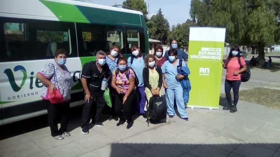 Personal de Salud de Viedma se trasladará este miércoles a El Cóndor.