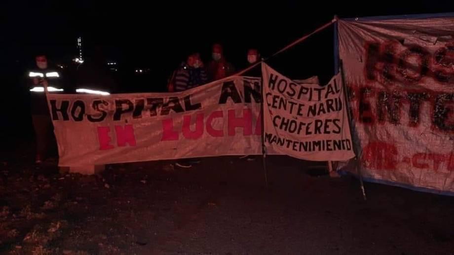 Siguen los cortes de Salud en Neuquén: el bono Covid no destrabó el conflicto