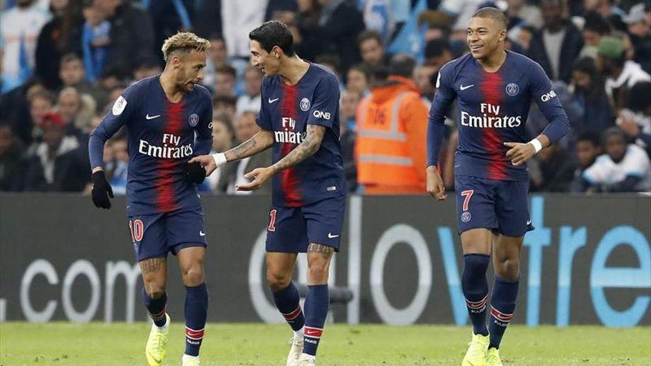 Neymar, Di María y Mbappé, el tridente de fuego de los parisinos que van por una nueva final.