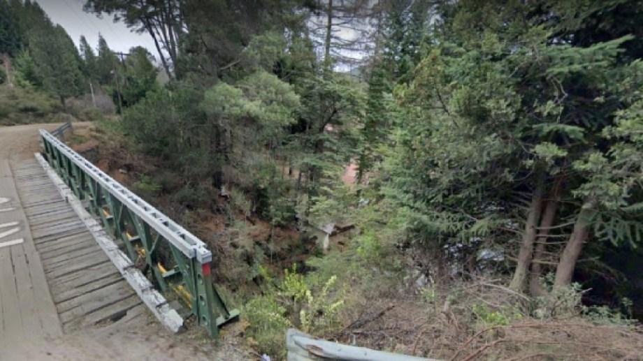 La joven que encontraron en el arroyo Goye se alojaba en un camping en Colonia Suiza. Foto: Google Maps