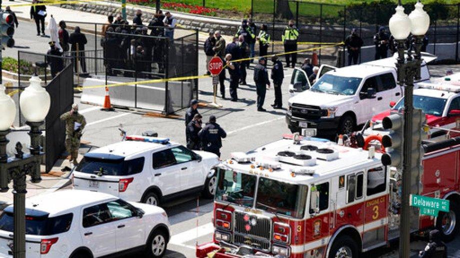 El Capitolio quedó en alerta tras el ataque. (Foto: AP)