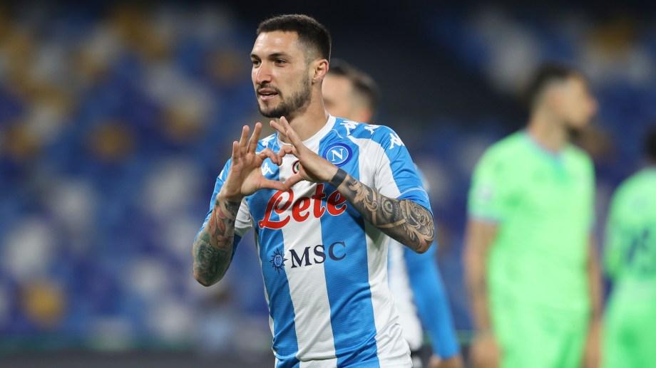 Napoli tuvo una excelente actuación ante Lazio. (Foto: AP)