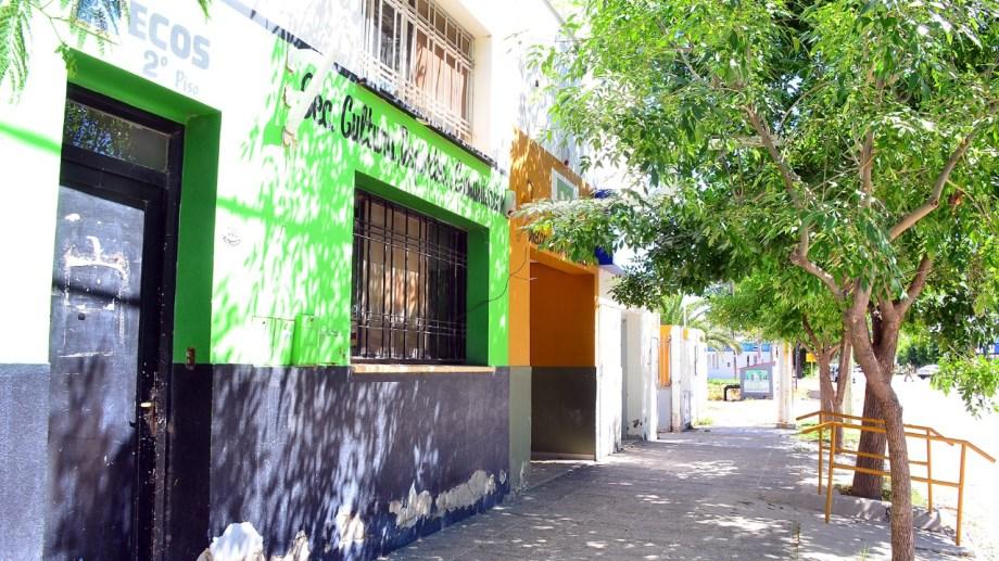 El municipio de Huergo espera la restitución del un edificio cedido al Banco de la Nación Argentina.  (Foto Néstor Salas)