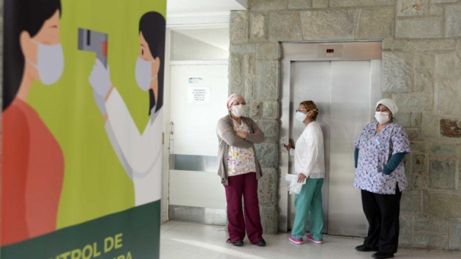 Hospital Zonal Bariloche. Foto: Alfredo Leiva.-