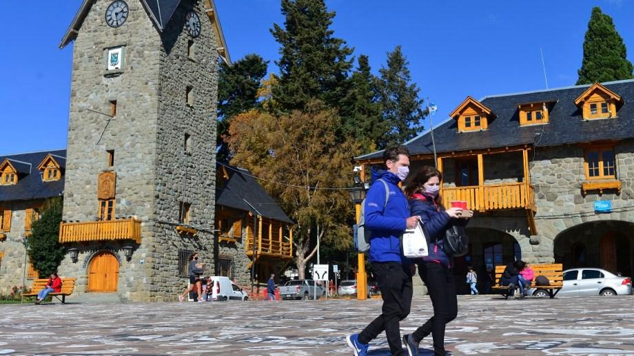 Bariloche tiene el 66% d de los casos activos de la provincia.