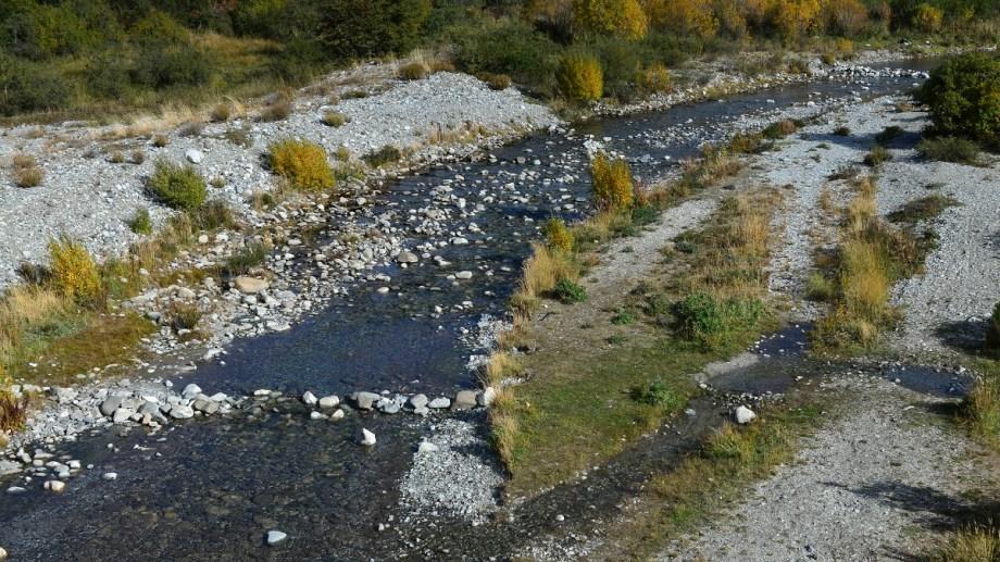 La línea de riesgo hídrico marca hasta dónde podría llegar una inundación. Foto: archivo