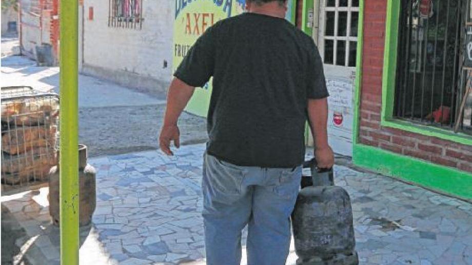 En 2020 se implementó por primera vez el programa de garrafas y se entregaron 6.438. Foto Juan Thomes