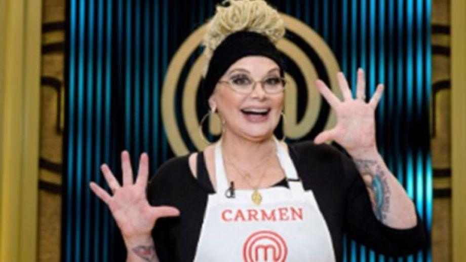 Carmen Barbieri debutó en Masterchef.