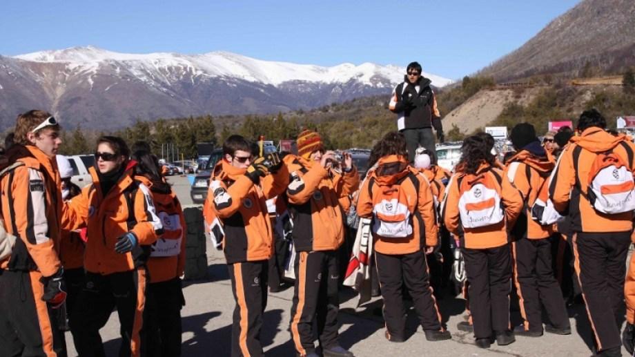 En lo que va del año, solo 12.000 egresados visitaron Bariloche. Foto: archivo