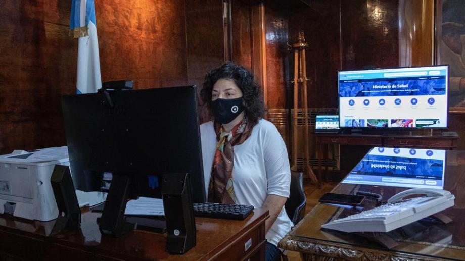 Vizzotti manifestó su preocupación por el aumento de contagios en el país.