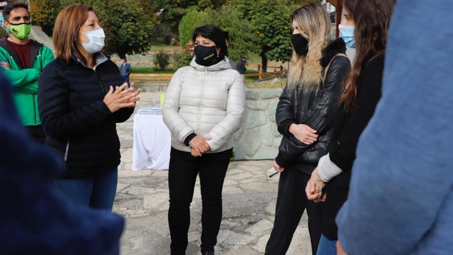 En el grupo hay cinco jóvenes de Bariloche. Foto: gentileza