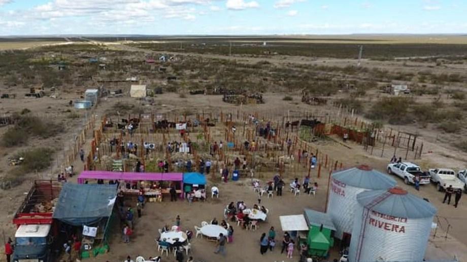El evento se desarrollo en el predio de la Cooperativa La Amistad. Foto: gentileza.