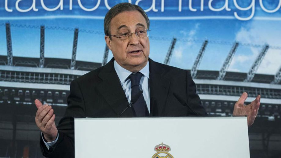 El presidente de Real Madrid afirmó que la Superliga Europea todavía sigue en pie.