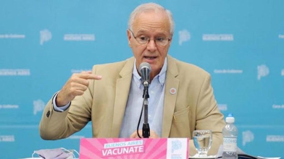 Daniel Gollan, ministro de Salud de la provincia de Buenos Aires.