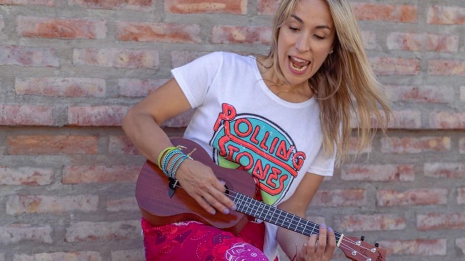 Jorgelina Guarnieri, música, actriz y cantante trabaja para su primer disco