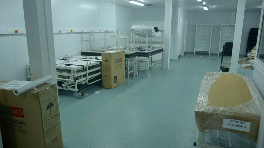 El centro sanitario turístico contará con internación ambulatoria. Foto: Patricio Rodríguez