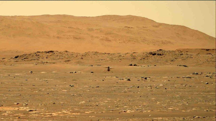 Marte y una nueva hazaña: el primer vuelo de un helicóptero.