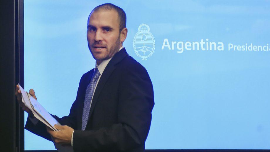 El ministro de Economía, Martín Guzmán, viajará este viernes.
