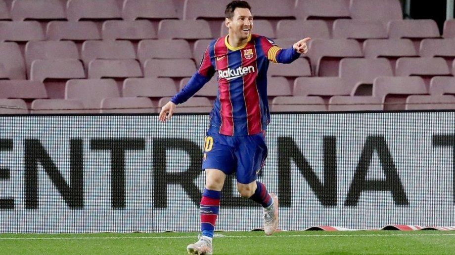 La Pulga hizo dos en la victoria de Barcelona.
