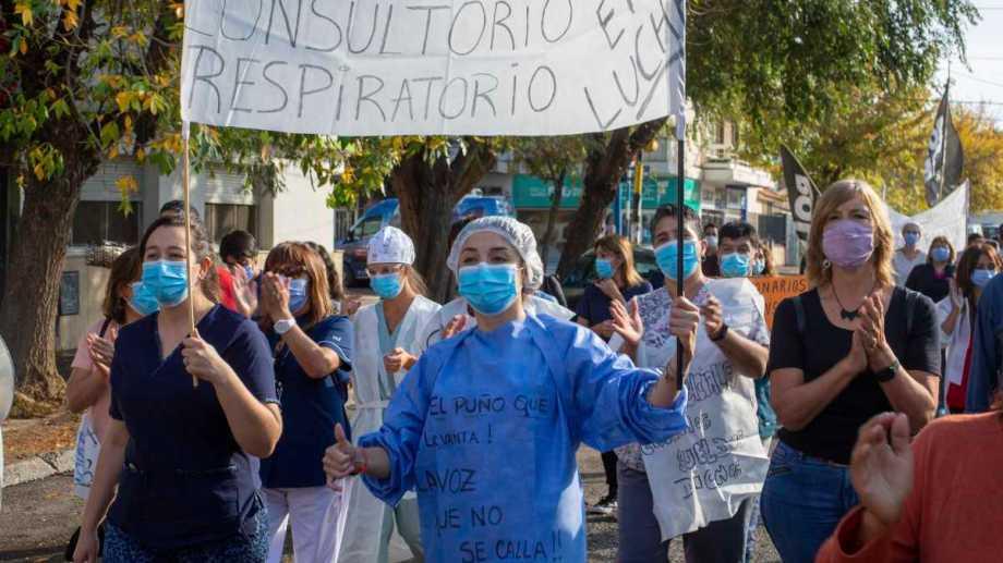 La semana pasada el malestar de los trabajadores se instaló sobre las rutas y calles de diferentes ciudades, sin bloqueos totales. Foto: Juan Thomes
