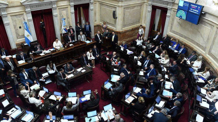 El Senado debatirá el jueves los proyectos de Ganancias y Monotributo.