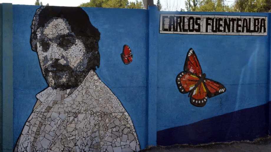 El mural que realizó la Colectiva COMUM durante este fin de semana está ubicado sobre Planas, casi esquina Bejarano, de la capital. Foto Yamil Regules.
