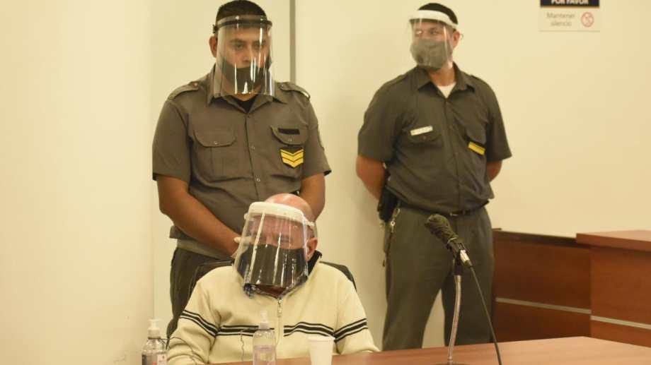 Rodolfo Lucini permanece con prisión preventiva desde el 3 de agosto pasado. Foto Florencia Salto.