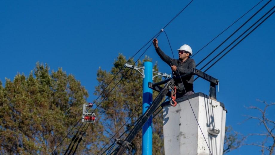 El corte de suministro será por tareas de mantenimiento en redes de media tensión. Foto archivo.