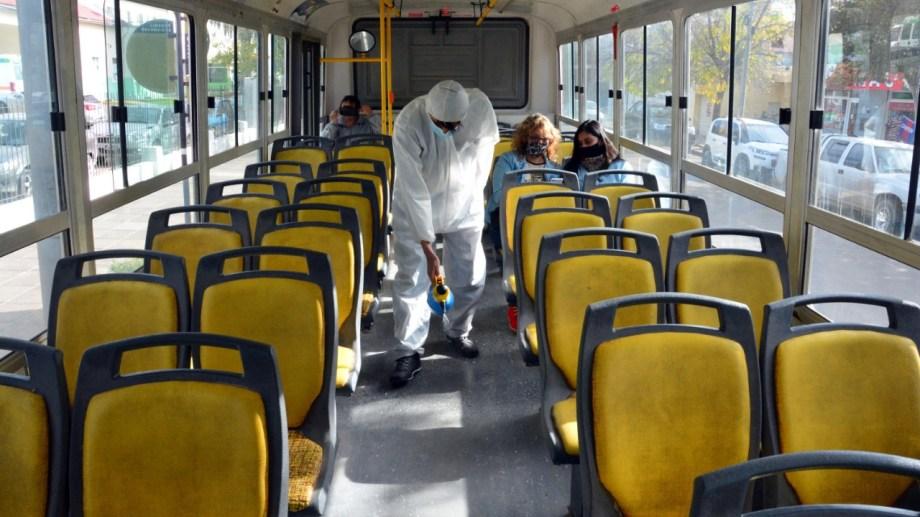El total de activos de coronavirus en Viedma es de 181. Foto: Marcelo Ochoa.