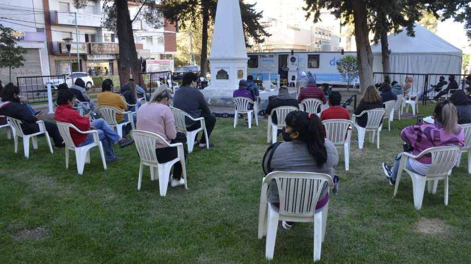 Los tráilers del operativo Detectar volvieron a aumentar su concurrencia en Neuquén. Foto: archivo Yamil Regules.