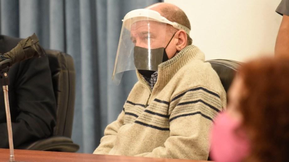 Lucini tiene 56 años y está detenido desde el 3 de agosto. Foto Florencia Salto.