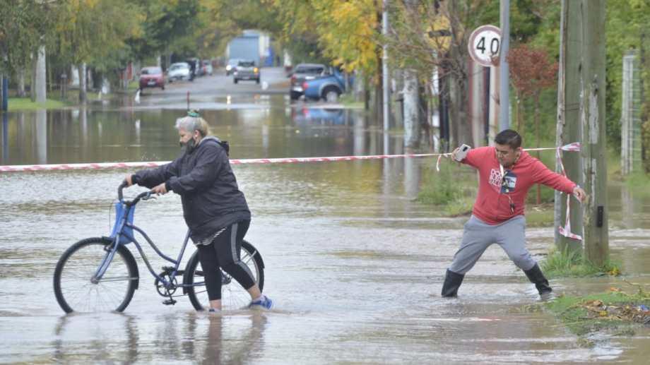 Antes de esta, la última gran lluvia en abril en la región fue en 2014. (Yamil Regules)