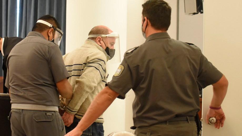 Lucini se encuentra con prisión preventiva desde el 3 de agosto de 2020. Foto Florencia Salto.