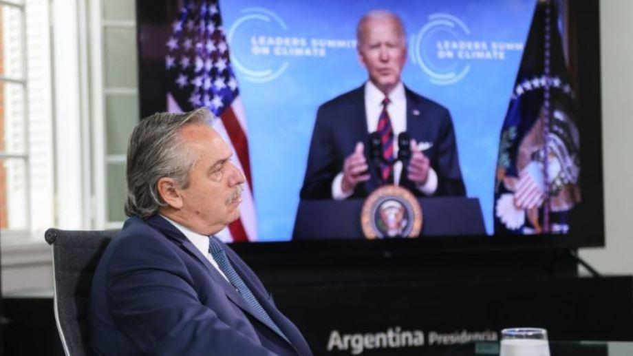 """Ante la Cumbre de Cambio Climático, Alberto Fernández insistió con un """"canje de deuda por acción climática""""."""