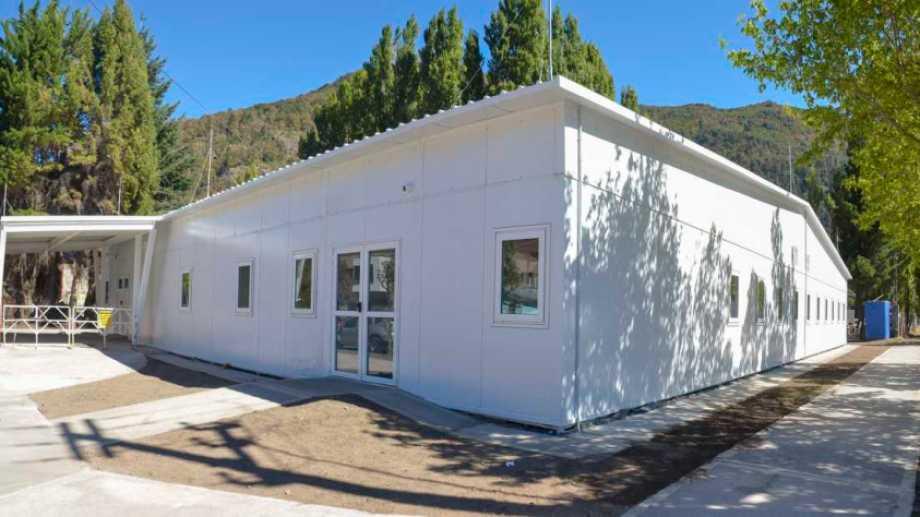 El hospital modular de San Martín de los Andes. Foto: Patricio Rodríguez