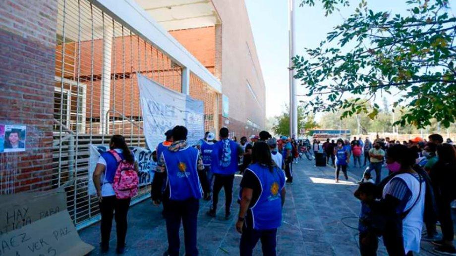 El 23 de marzo, el grupo organizó un escrache contra la mujer que denunció a Báez por abuso. (foto: archivo)
