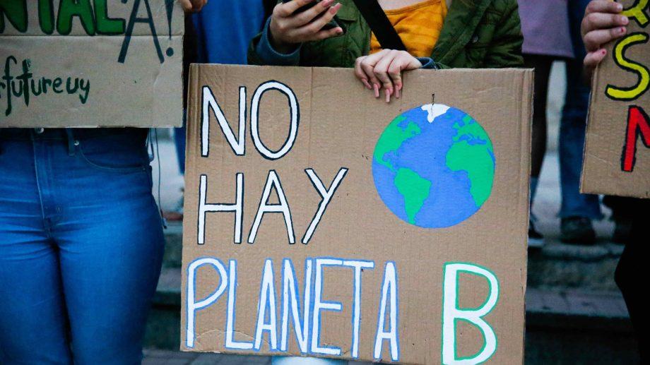 Las protestas para alertar por el cambio climático se realizaron en todo el mundo. Archivo
