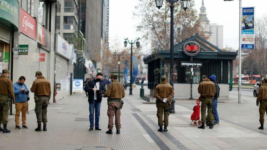 Chile anunció el cierre de sus fronteras por 30 días y pasó el millón de contagios de coronavirus. Foto gentileza.