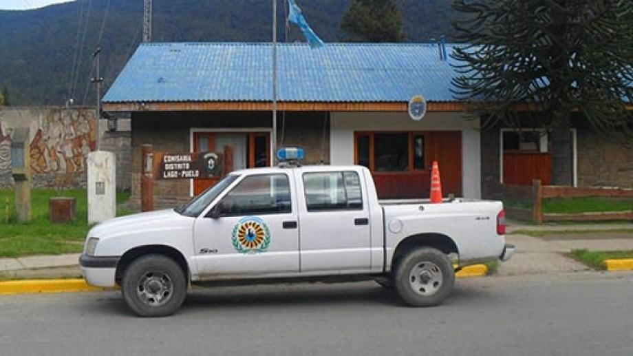 La Policía de Lago Puelo intervino ante los violentos hechos del fin de semana que dejaron el saldo de una víctima fatal. Gentileza