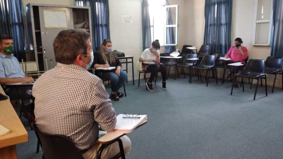 El Consejo local se reúne los segundos lunes de cada mes. Foto: gentileza.