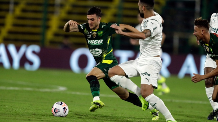 El equipo de Beccacece no pudo contra Palmeiras y ahora tendrá que ir a buscar la hazaña a Brasil.