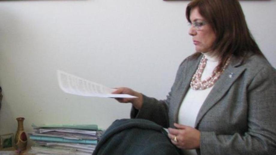 Gloria Martina, jueza de Familia de Zapala. (Archivo)