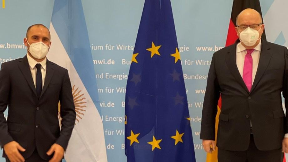 Martín Guzmán se reúne en Berlín con el director de la Cancillería alemana