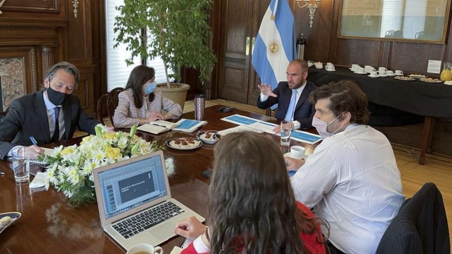 El ministro de Economía Martín Guzmán aseguró que la idea del Gobierno no es volver a implementar una cuarentena estricta. Foto Télam.