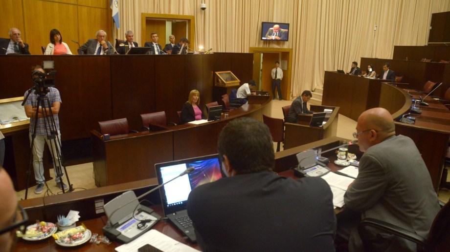 El jury al exjuez Marcelo Muñoz se realizó en la Legislatura y terminó con su destitución. (Archivo/Río Negro)
