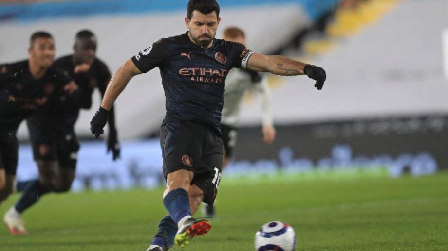 El Kun Agüero se quiere despedir del Manchester City, ganando la Champions League.