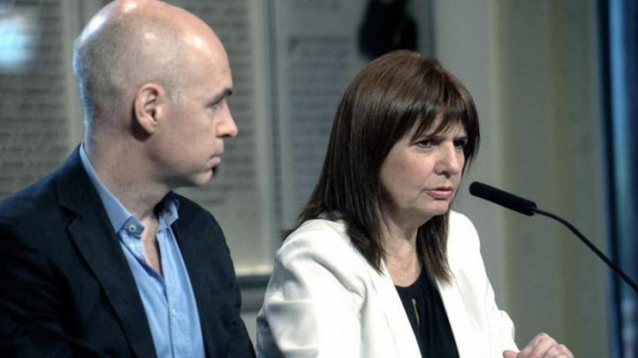Denunciaron por atentado a la salud pública y sedición a Rodríguez Larreta, Stanley y Bullrich.